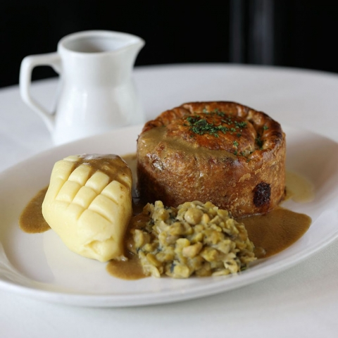 The Cow Pie, Mash & Gravy