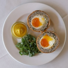 The Cow Scotch egg