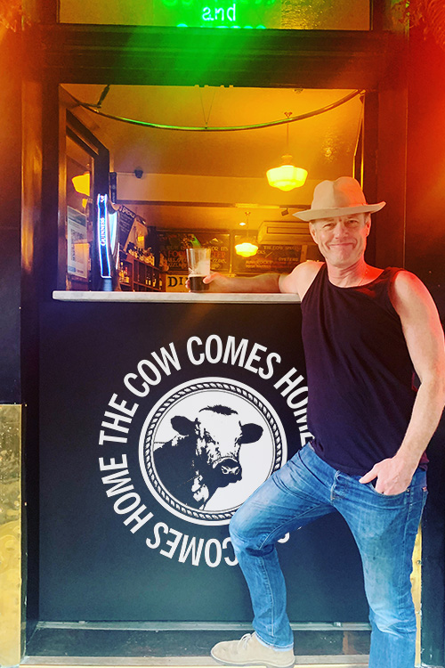 Tom Conran at The Cow Comes Home